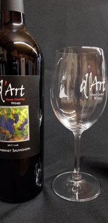 d'Art Wine Glass