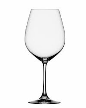 Used Wine Glass